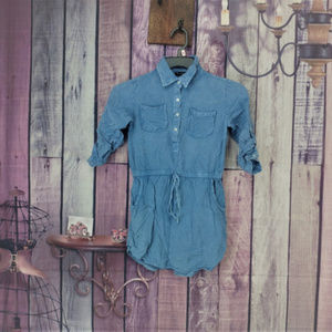 Other - stylehouse jean tunic pockets size 8 AH15